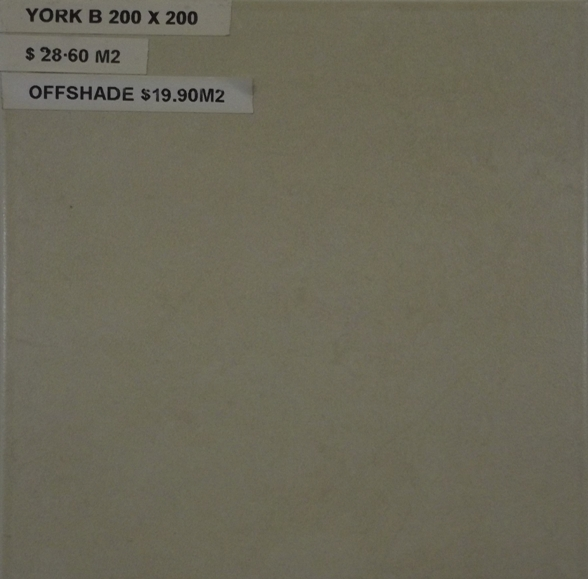 York B 200 x 200 OFF SHADE ONLY LEFT
