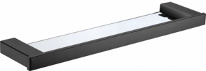 Seto Glass Shelf 500 mm Matt Black