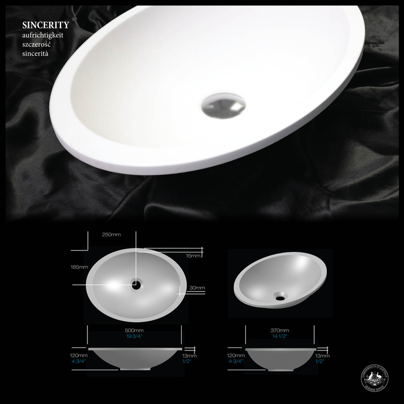 Sincerity Under-Counter Basin